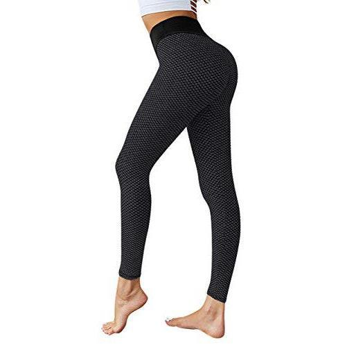 """<p><strong>Reviews & rating:</strong> 14,427 reviews, 3.9 out of 5 stars.</p> <p><strong>Key selling points:</strong> That's right, another pair of top-rated TikTok butt-lift leggings. Reviewers confirm that his ruched pair is incredibly flattering yet high-quality, and almost feels like a second skin. </p> <p><strong>What customers say:</strong> """"I LOVE these leggings! They fit perfectly and they're so comfortable and flattering! The quality of the material is excellent — it's stretchy, durable, and great for working out. I'm going to order more colors!"""" —<a href=""""https://amzn.to/3dncnmJ"""" rel=""""nofollow noopener"""" target=""""_blank"""" data-ylk=""""slk:Antita"""" class=""""link rapid-noclick-resp""""><em>Antita</em></a><em>, reviewer on Amazon</em></p> $16, Amazon. <a href=""""https://www.amazon.com/MOSHENGQI-Lifting-Stretchy-Leggings-Textured/dp/B0819GY5NK/ref="""" rel=""""nofollow noopener"""" target=""""_blank"""" data-ylk=""""slk:Get it now!"""" class=""""link rapid-noclick-resp"""">Get it now!</a>"""