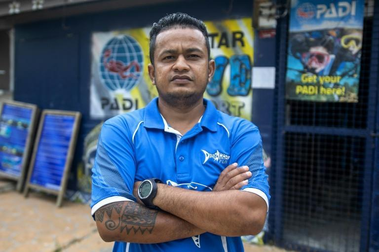 The shutdown has created an uncertain future for workers like diving instructor Ashwin Pal
