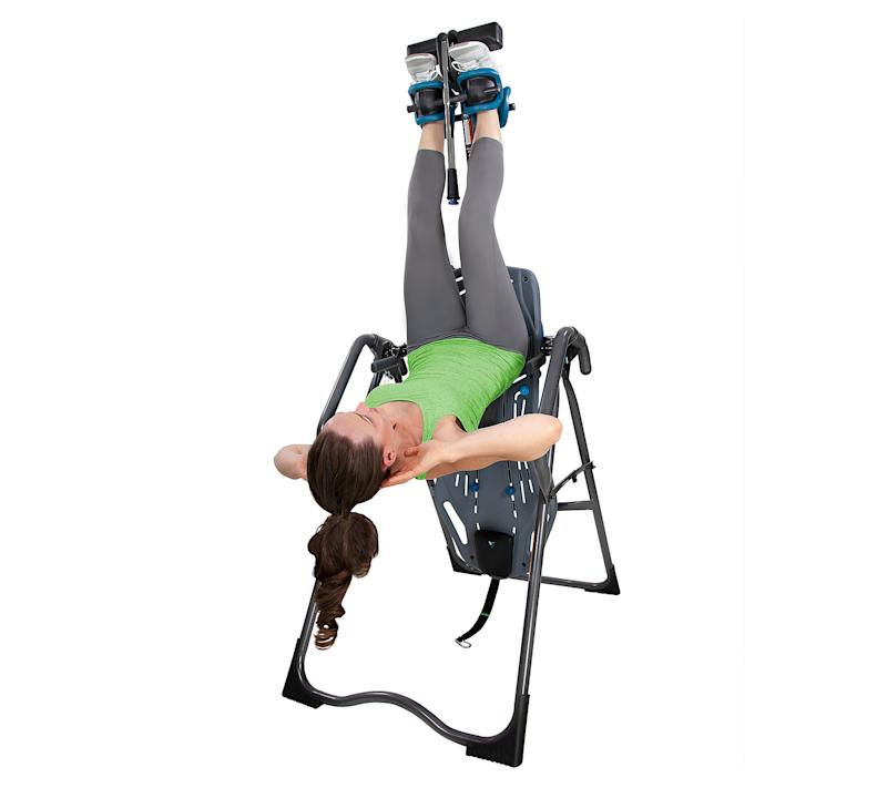 Amp up those sit ups with this smart contraption. (Photo: Teeter FitSpine)