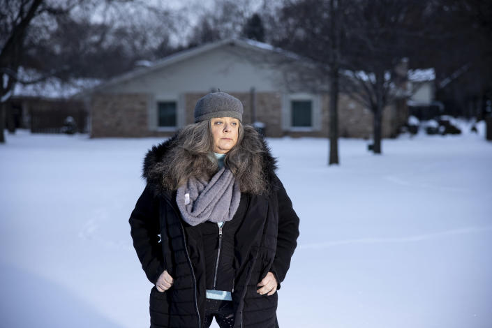 Amy Jeanchaiyaphum, a photographer, who assumed she had made a mistake in her paperwork when she was issued a loan of $95, in Minnetonka, Minn., Jan. 5, 2021. (Tim Gruber/The New York Times)