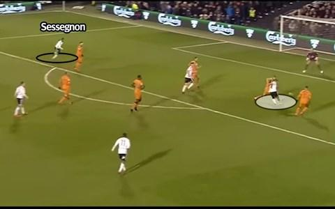 Sessegnon positioning