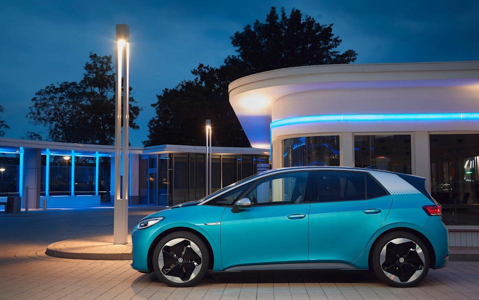 VW's ID.3 is the company's first car designed from the ground up to be electric