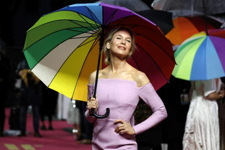 """Zellweger has been nominated for a BAFTA for her portrayal of Judy Garland in the romance drama """"Judy"""""""