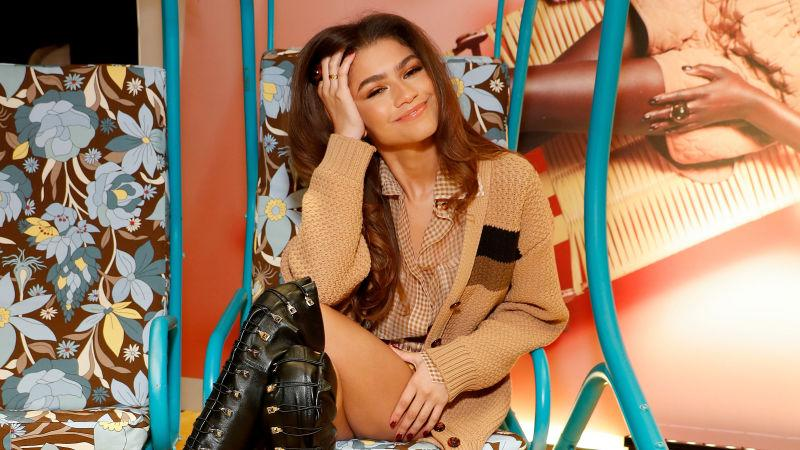 Zendaya attends The Launch of Solar Dream hosted by Fendi on February 05, 2020, in New York City.