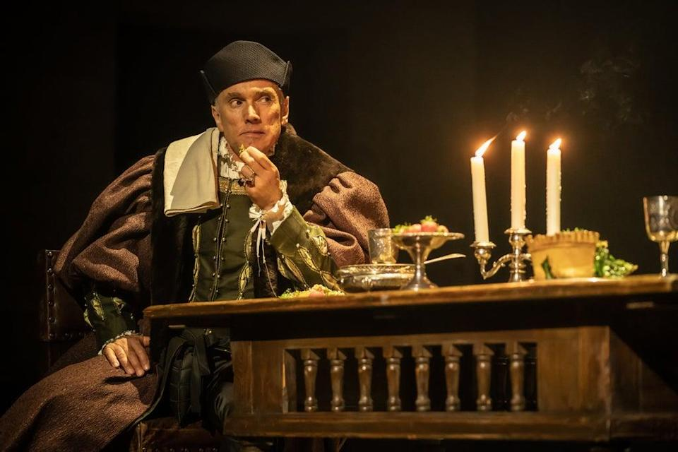 Ben Miles as Thomas Cromwell in The Mirror and the Light  (Marc Brenner)