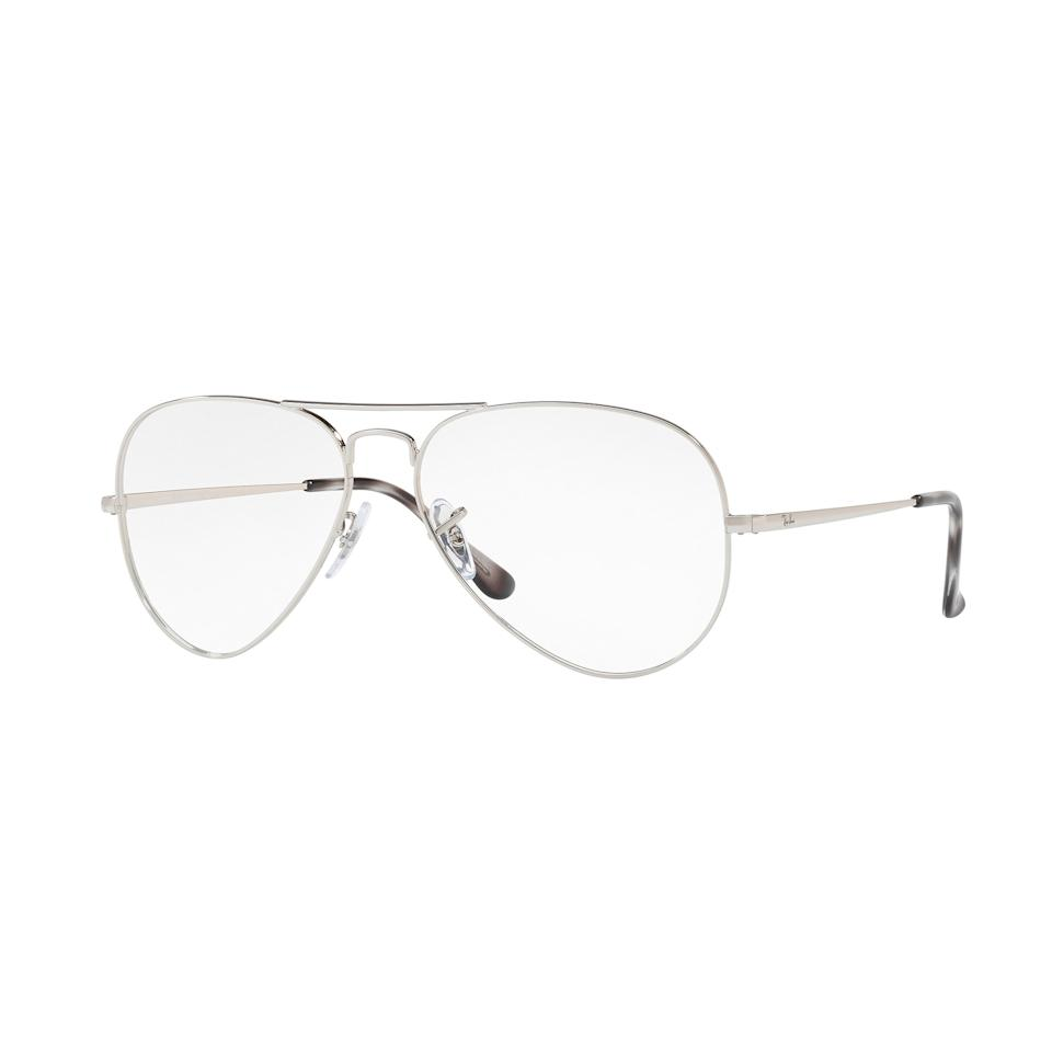 """<p>$65 (<a rel=""""nofollow"""" href=""""http://www.ray-ban.com/usa/eyeglasses/RX6489%20MALE%20001-aviator%20optics-gold/8053672741858?category_Id=404611&mbid=synd_yahoostyle"""">ray-ban.com</a>)</p>"""