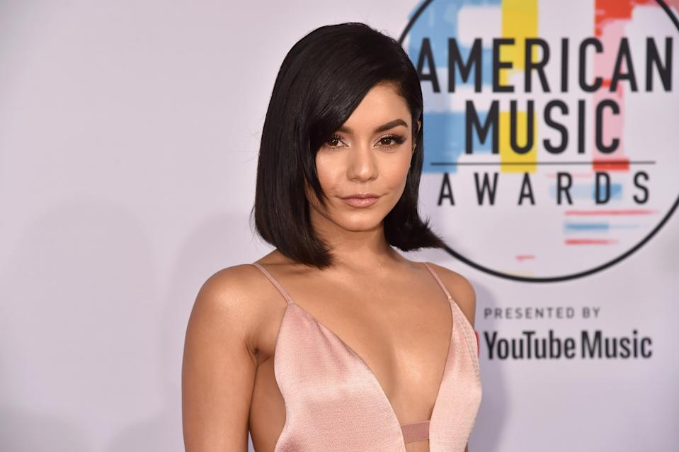 In a <em>Women's Health </em>cover story, actress Vanessa Hudgens, shown here at the American Music Awards in October. revealed her love of intermittent fasting. (Photo: Jeff Kravitz/FilmMagic)
