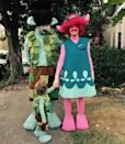 "<p>The superstar duo and their son Silas went all out as Branch, Poppy, and ""Lil' Branch"" in 2016. That same year, Timberlake voiced the green character in <em>Trolls</em>. <br></p>"