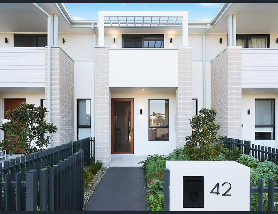 Image of the front of 42 Enmore Street, Marsden Park, NSW 2765.
