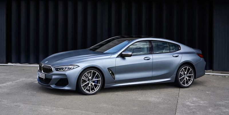 BMW 8 Series Gran Coupe adds a usable second row
