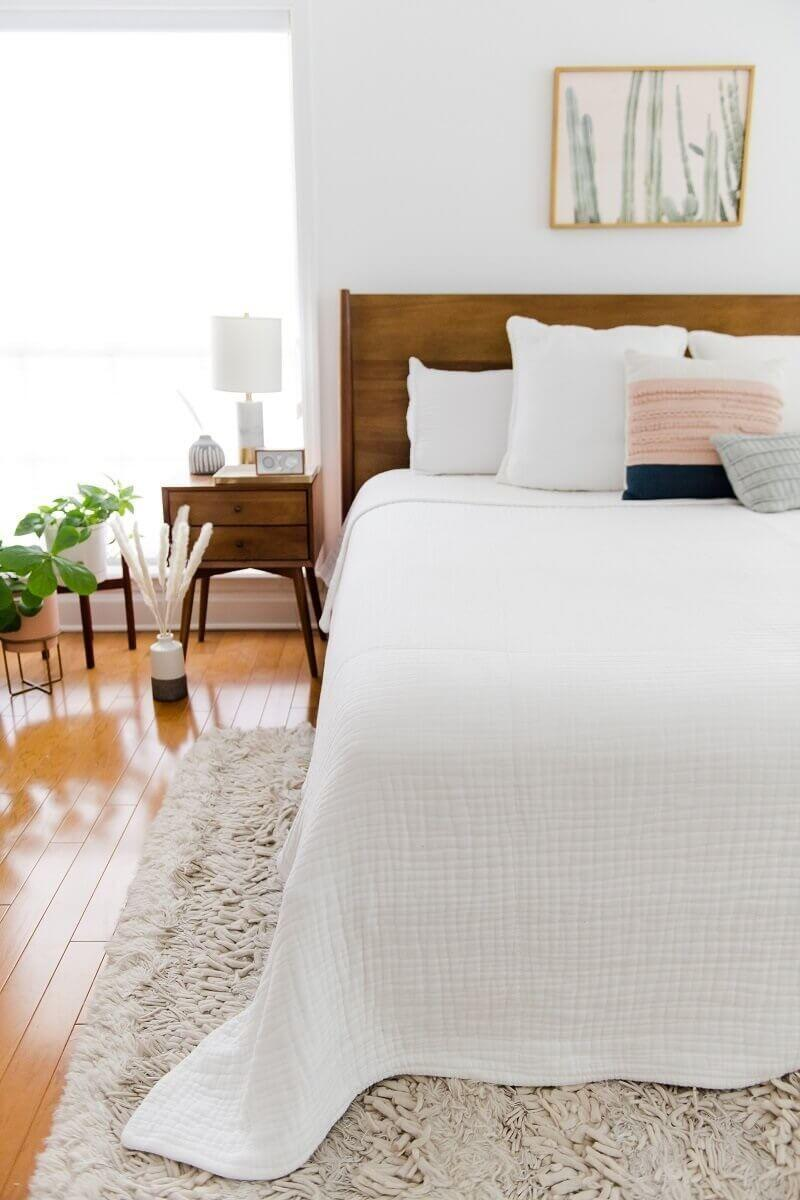 """It uses ultra-breathable, temperature-regulating, all natural woven hypoallergenic cotton.<br /><br /><strong>Promising review:</strong>""""I've been using this for about a week and no more night sweats! It's like a miracle. The blanket has a really nice weight to it and is very soft. It is HUGE. I knew this in advance so I ordered one size down, but it is still big. I make it work though bc I love everything else about it!"""" — <a href=""""https://muslincomfort.com/collections/100-cotton-muslin-bedding/products/the-365-blanket"""" target=""""_blank"""" rel=""""noopener noreferrer"""">Alexandra R.</a><br /><br /><strong><a href=""""https://muslincomfort.com/collections/100-cotton-muslin-bedding/products/the-365-blanket"""" target=""""_blank"""" rel=""""noopener noreferrer"""">Get it from Muslin Comfort for $169.99+(available in oversized sizes twin-king and in three colors).</a></strong>"""