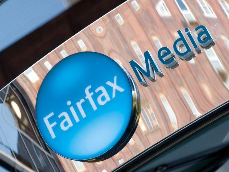 Fairfax shares down at close