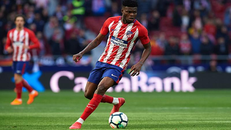 Atletico Madrid trained with 10 men before Arsenal tie, reveals Thomas Partey