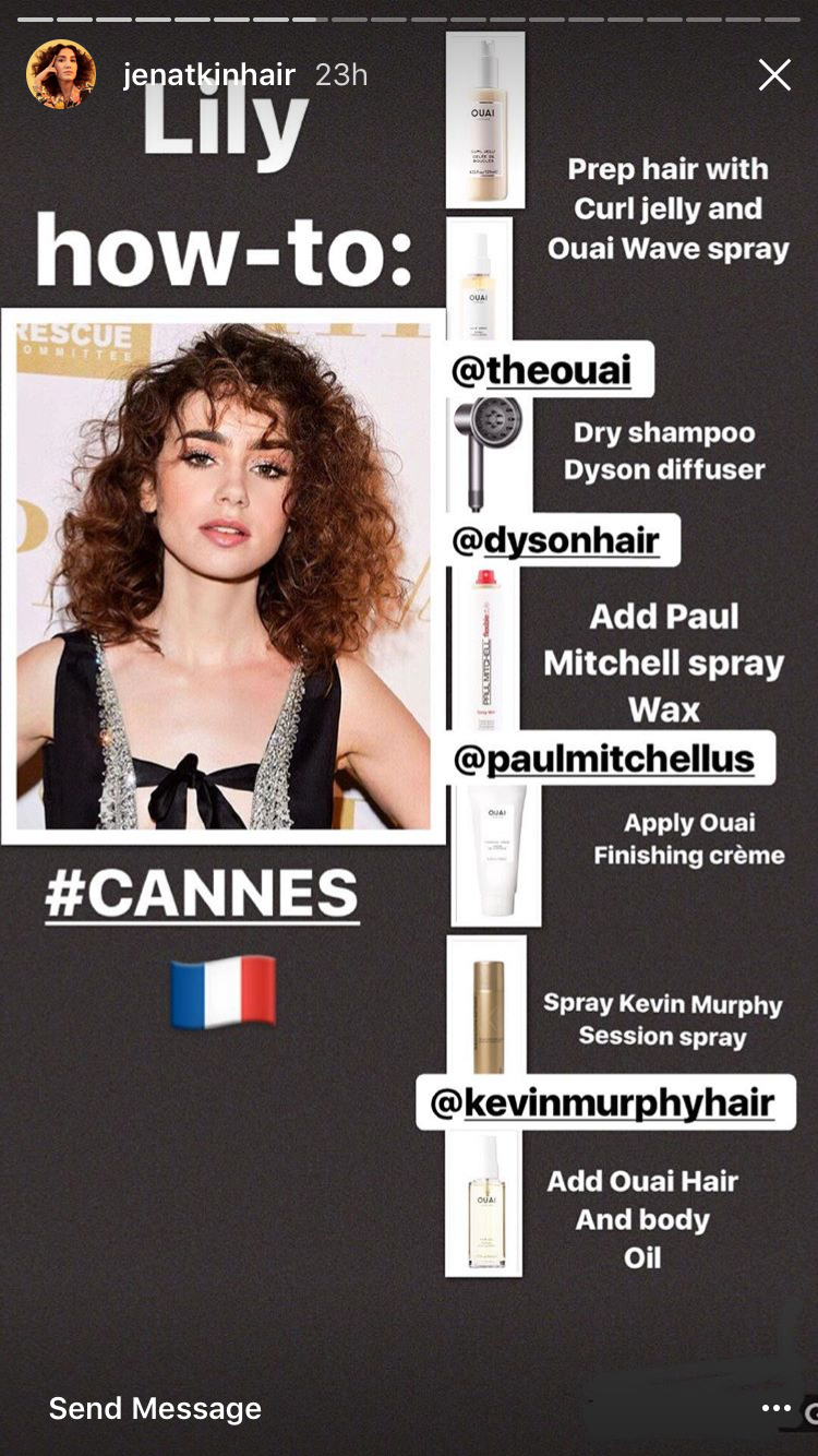 Straight perm yahoo answers - Lily Collins Perm How To