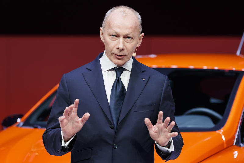 Renault Removes CEO Bollore