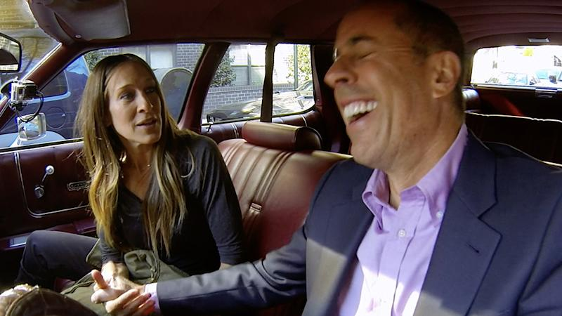 Comedians in Cars Getting Coffee Jerry Seinfeld and Sarah Jessica Parker