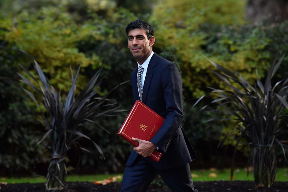 <p>Rishi Sunak faces growing pressure from Tory MPs</p> (AFP via Getty Images)