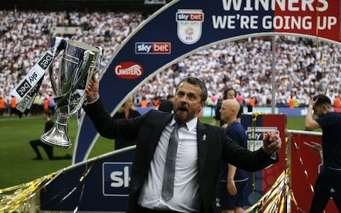 Fulham win promotion to Premier League after beating Aston Villa in Championship play-off final