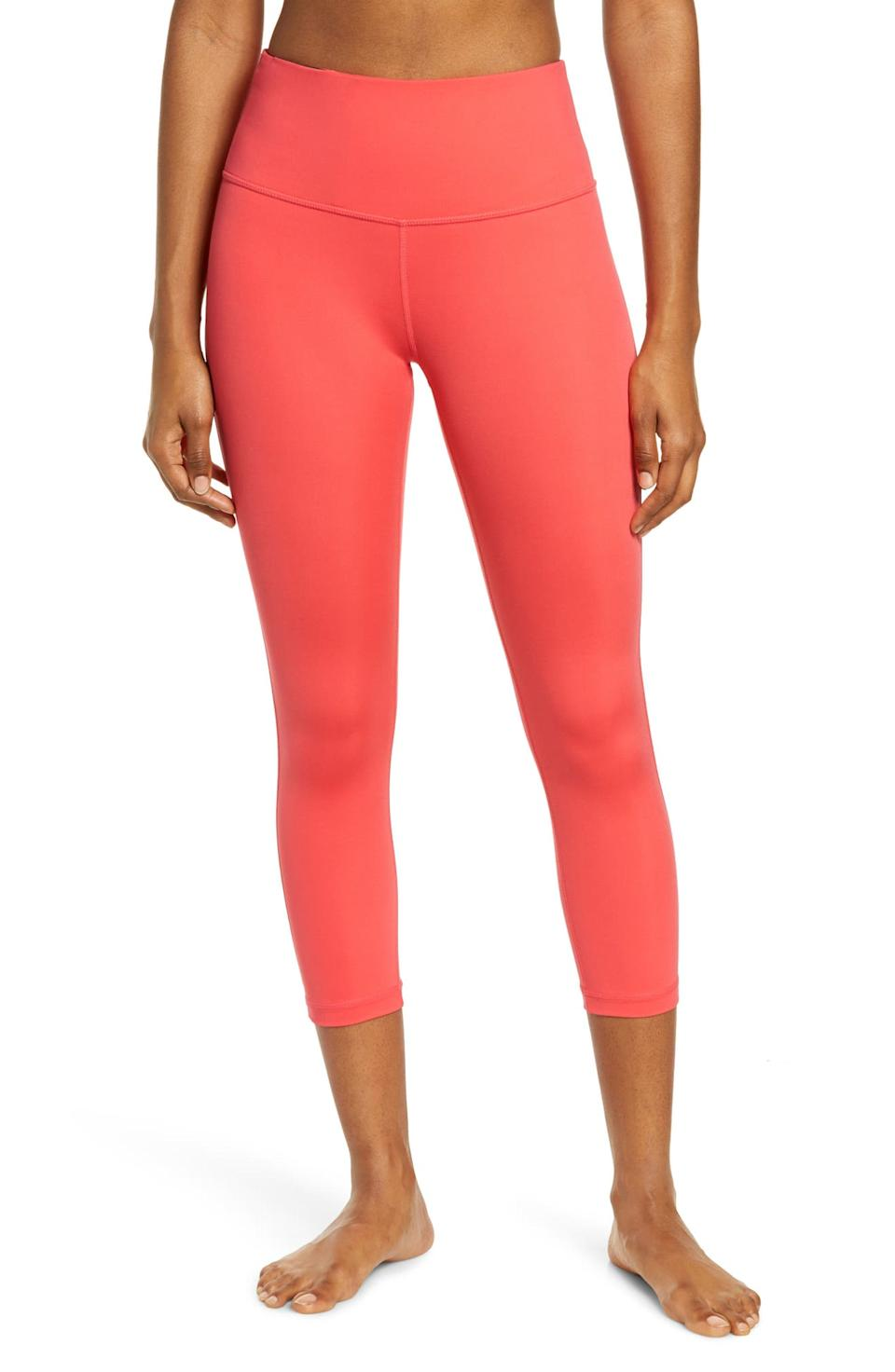 Studio Crop Lite Leggings. Image via Nordstrom.