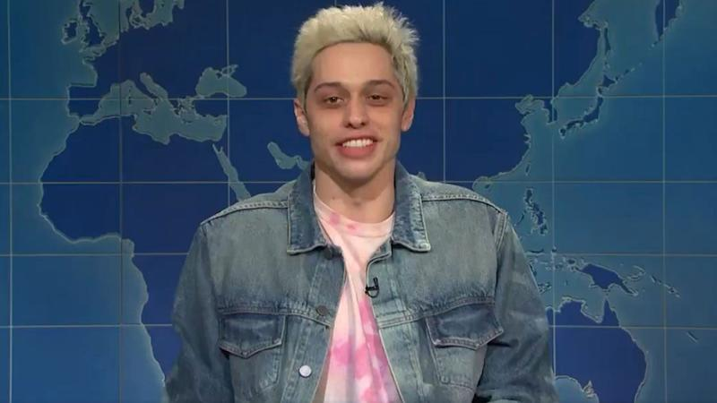 Pete Davidson talks about his dating life on 'SNL'
