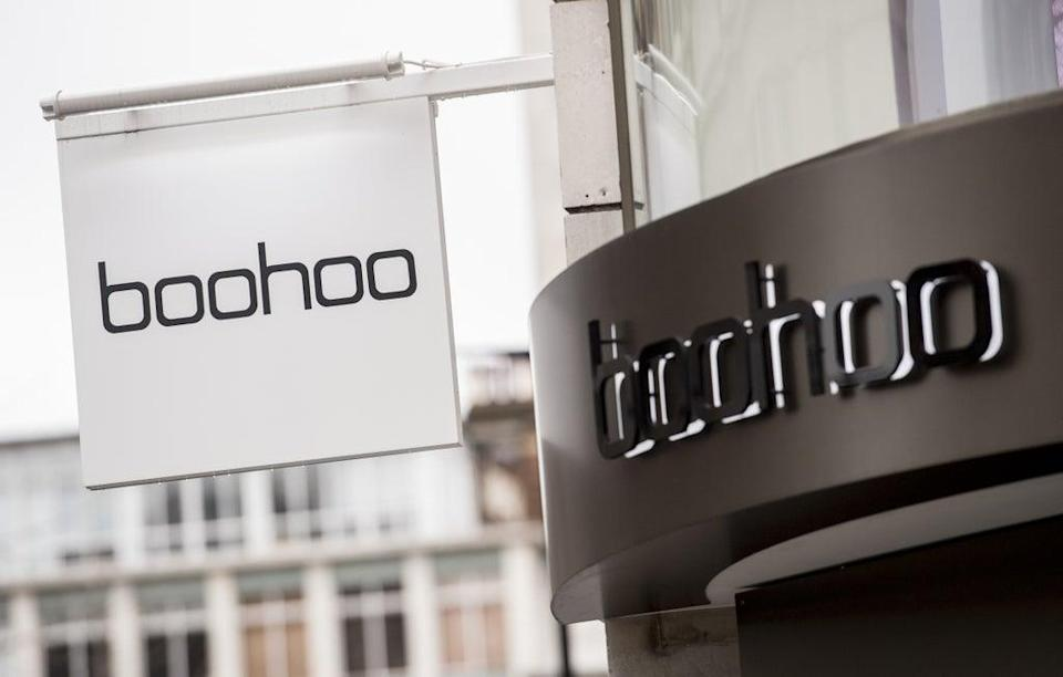 Boohoo sales were up but profits fell (Ian West/PA) (PA Wire)