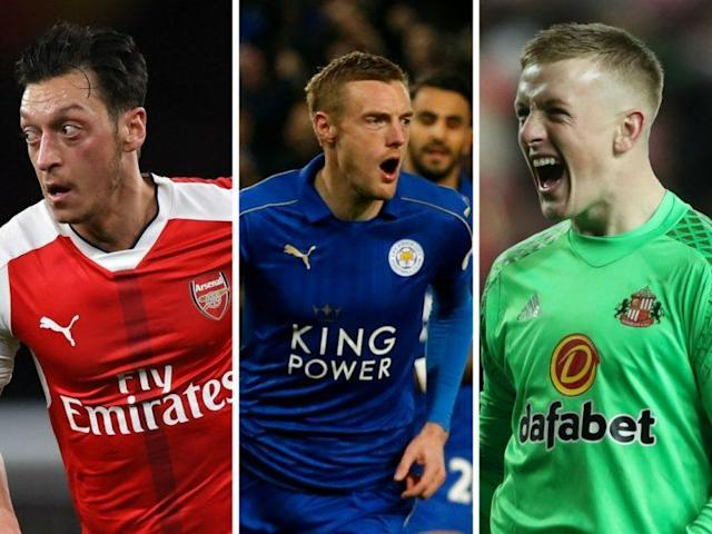 Mesut Ozil, Jamie Vardy and Jordan Pickford could all perform for your Daily Fantasy teams in Gameweek 32
