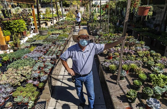 "Ramon Franco has owned Pasadena's Lincoln Avenue Nursery since 2003. <span class=""copyright"">(Gina Ferazzi / Los Angeles Times)</span>"