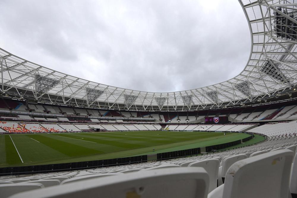 Bowled over: London Stadium is set to stage England's pool game against Australia: West Ham United via Getty Images