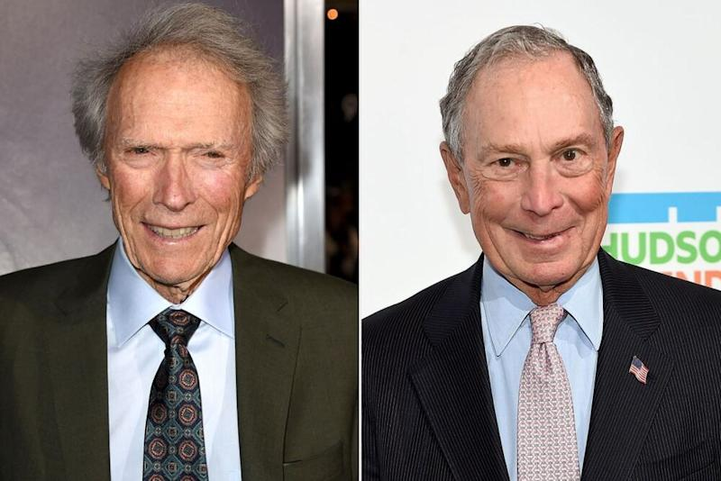 Clint Eastwood (left) and Mike Bloomberg | Kevin Winter/Getty Images; Jamie McCarthy/Getty Images