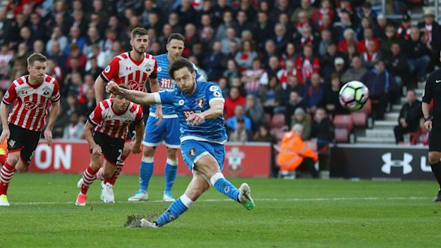 Bournemouth managed just two shots on target and Harry Arter missed a penalty as they were held to a 0-0 draw by Southampton.