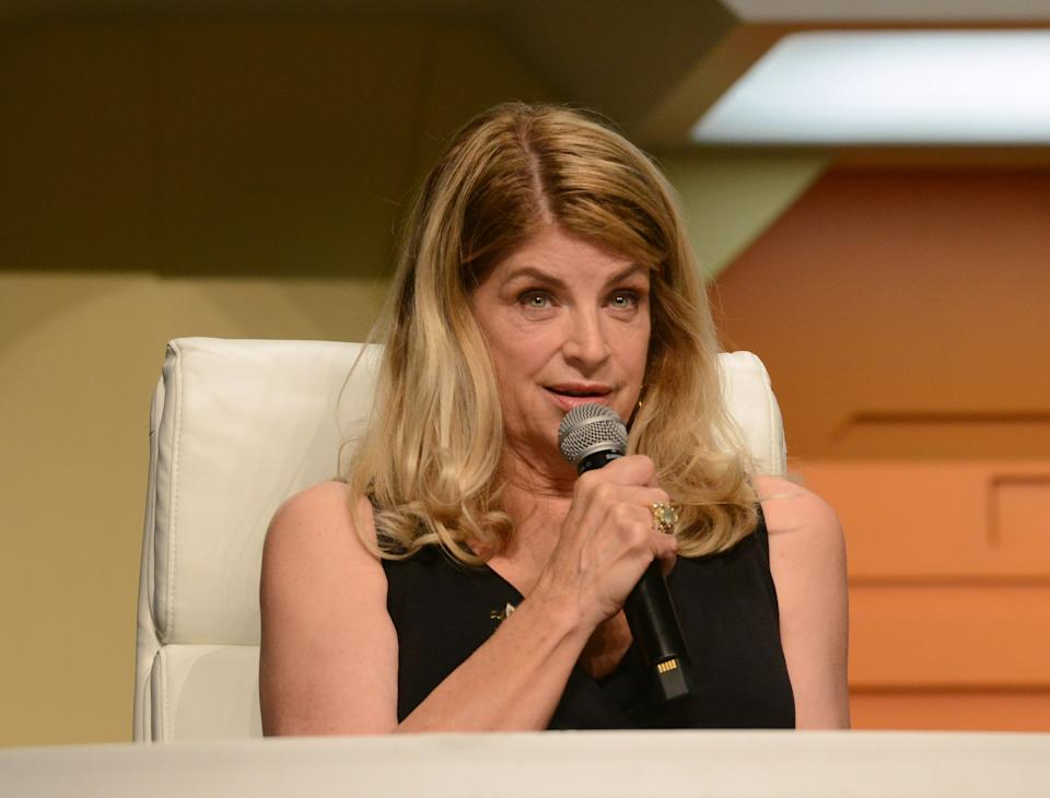 Kirstie Alley publicly voiced support for Donald Trump last year. (Photo by Albert L. Ortega/Getty Images)