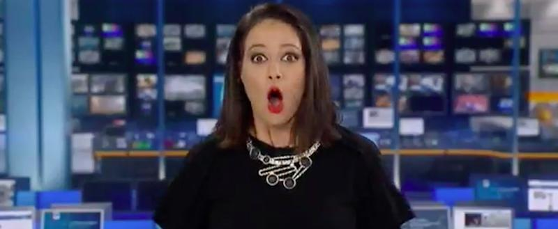 This News Anchor Was SHOCKED When She Realized She Was on Air