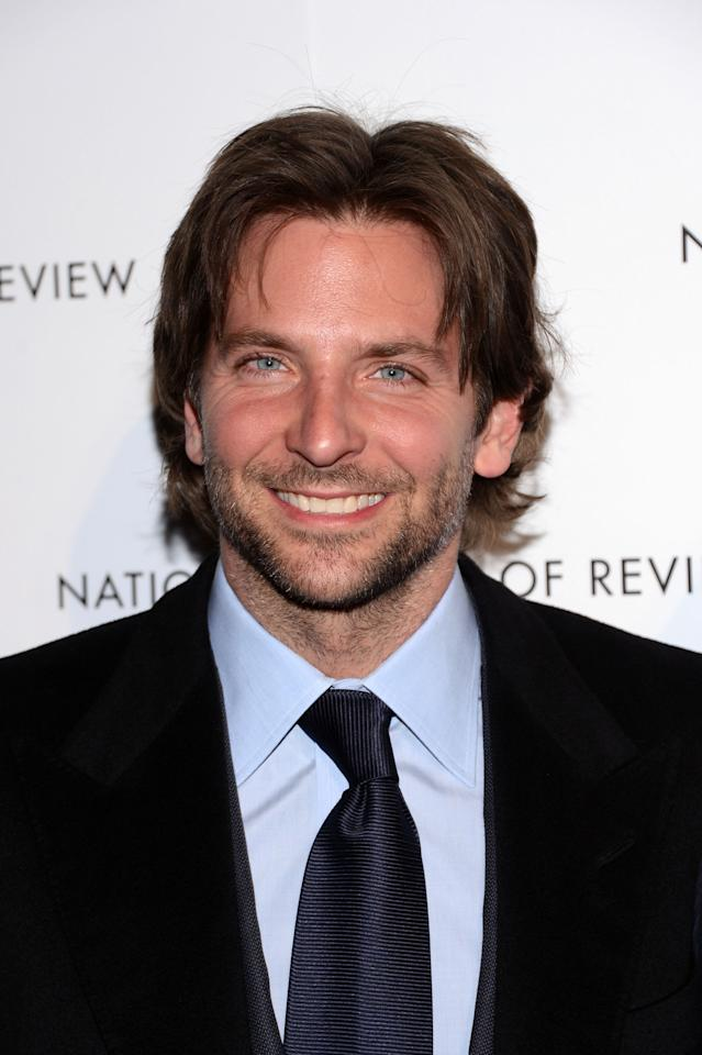 NEW YORK, NY - JANUARY 08:  Actor Bradley Cooper attends the 2013 National Board Of Review Awards at Cipriani 42nd Street on January 8, 2013 in New York City.  (Photo by Stephen Lovekin/Getty Images)