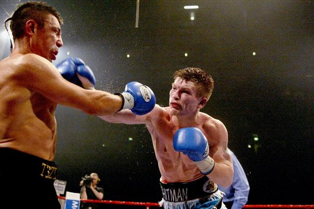 Hatton won the IBF light-welterweight title with victory over Tszyu in Manchester