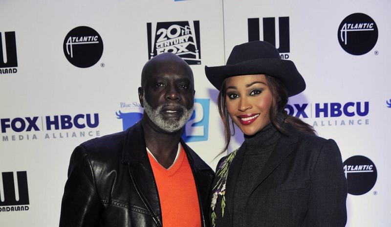 """The Real Housewives of Atlanta"" stars Peter Thomas and Cynthia Bailey"