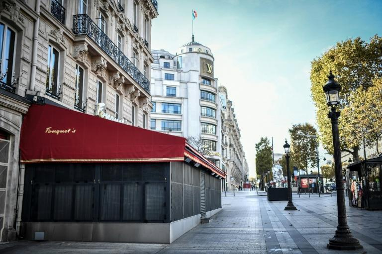 Although many French bars, cafes and shops are closed and streets are emptier, 60 percent admit to breaking lockdown rules
