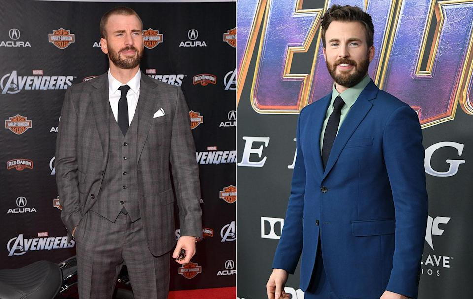 <p>Chris Evans has only grown in stature in the MCU during the seven years since the first <em>Avengers</em> film, thanks to his two game-changing solo sequels. (Getty Images) </p>