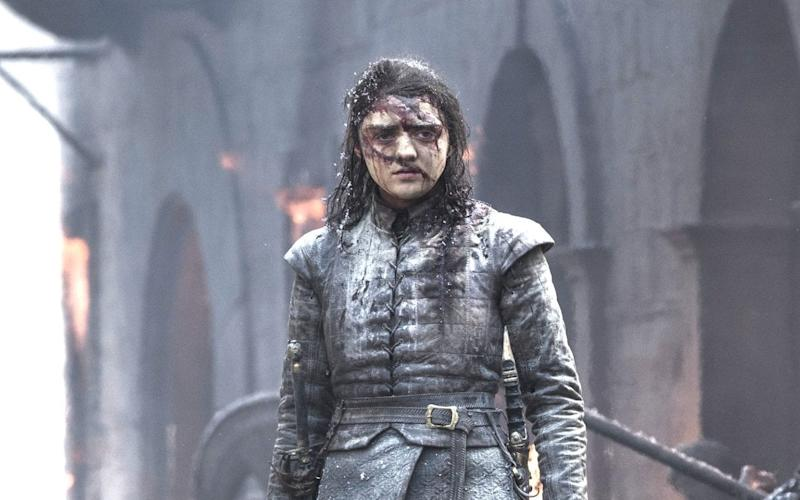 Will witnessing the destruction rained up Kings Landing by Daenerys provoke Arya into killing her? - HBO