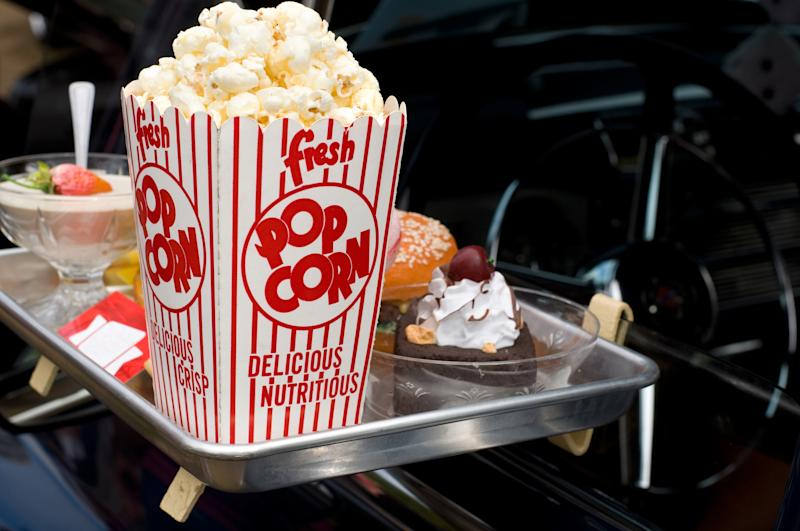Several drive through cinemas are launching in the UK. (Getty Images)