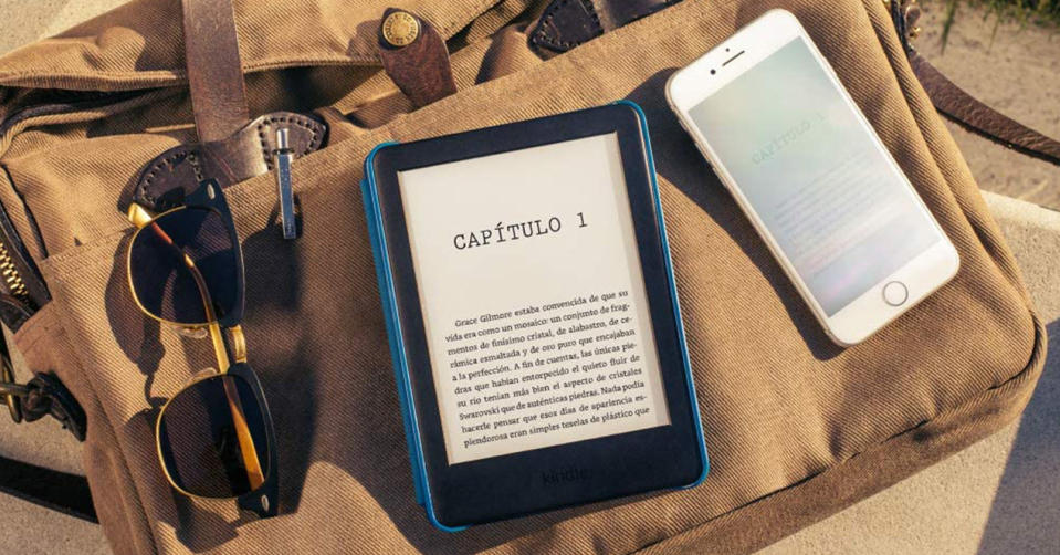 Kindle vs pantalla de smartphone/tablet- Foto: Amazon.com.mx
