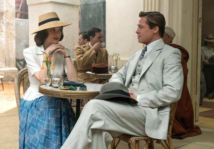 Brad Pitt plays Max Vatan and Marion Cotillard plays Marianne Beausejour in Allied (Photo: Paramount Pictures)