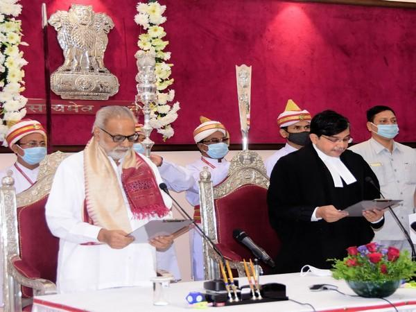 Justice S Muralidhar took oath as Chief Justice of Orissa High Court on Monday (Photo/ANI)