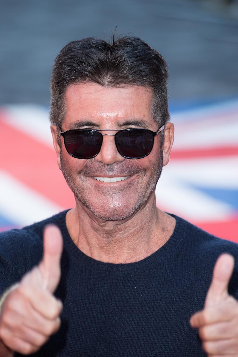 Simon Cowell attends the Britain's Got Talent 2020 photocall at London Palladium on January 19, 2020 in London, England. (Photo by Jeff Spicer/WireImage)