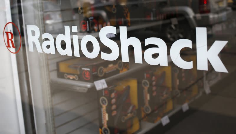 File photo of the exterior of a RadioShack store in the Queens borough of New York