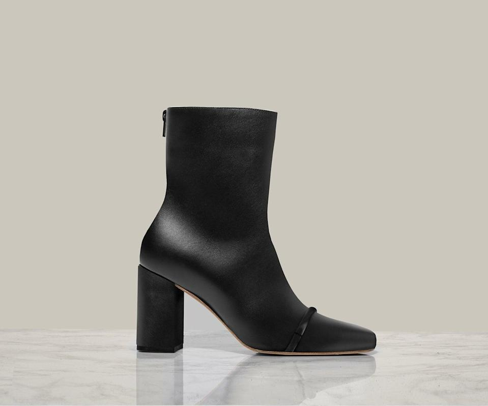 <p>These <span>Chelsea Paris Gigi Ankle Boots</span> ($495) are an elegant choice for a fancy dinner date or night out.</p>