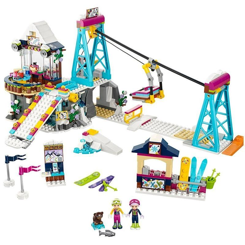 "<a href=""https://www.amazon.com/LEGO-Friends-Resort-41324-Building/dp/B072BQKXX4"" target=""_blank"">Children of all ages</a> benefit from building and seeing the fruits of their labor."