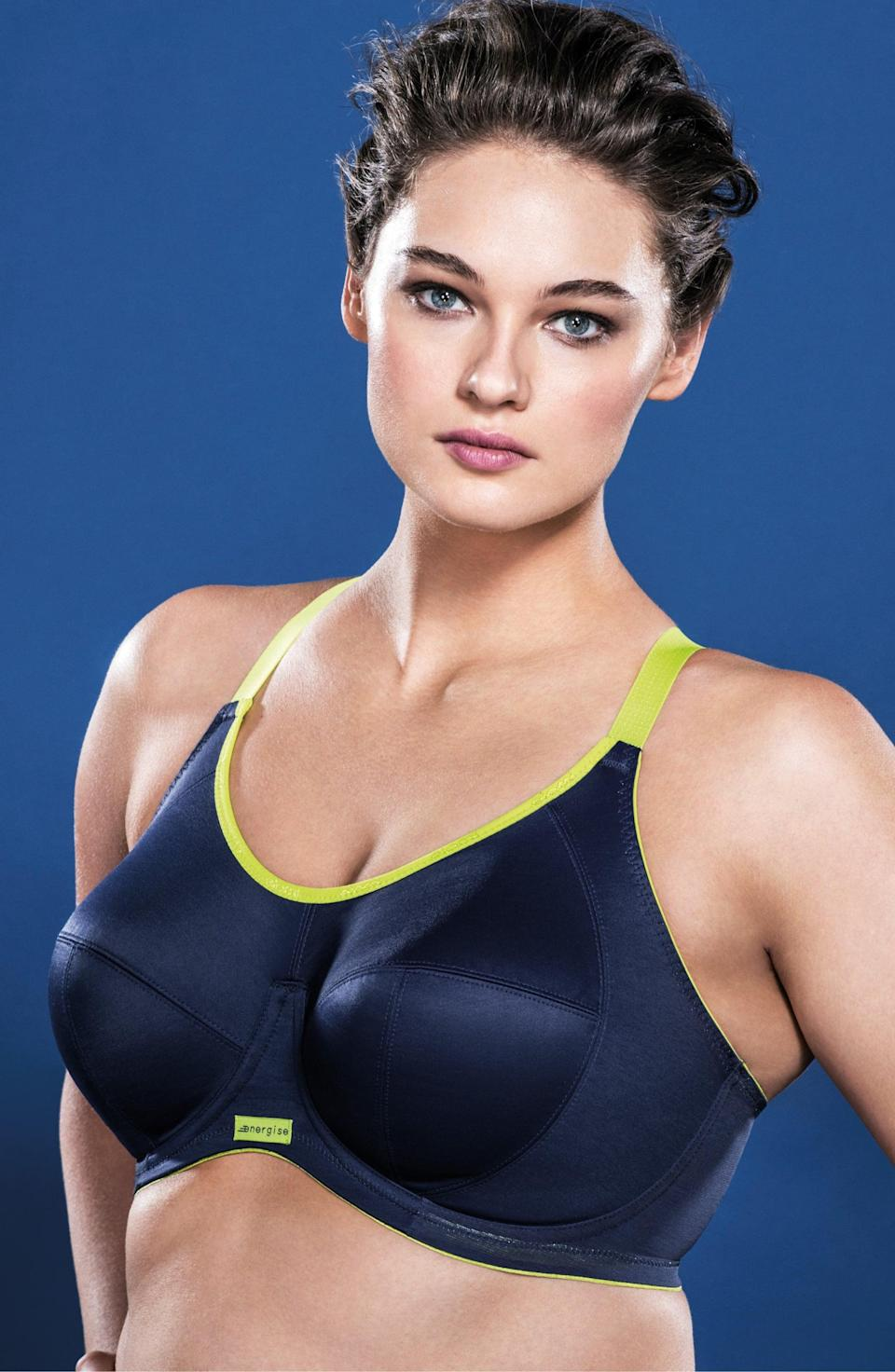<p>If you need support, this <span>Elomi Energise Sports Bra</span> ($66) has you covered.</p>