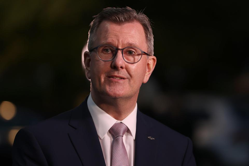 Sir Jeffrey Donaldson said any legacy proposals for Northern Ireland needed to be 'victim focused' (Liam McBurney/PA) (PA Wire)