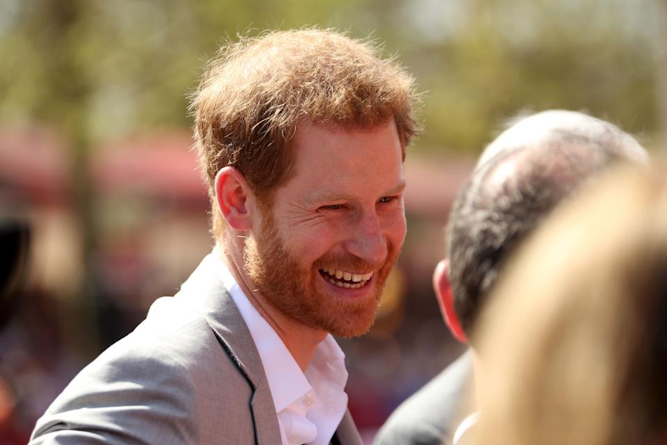 Prince Harry's full title isHis Royal Highness Prince Henry Charles Albert David of Wales. And, no, Wales is not his last name. (Photo: Paul Harding/PA Images via Getty Images)