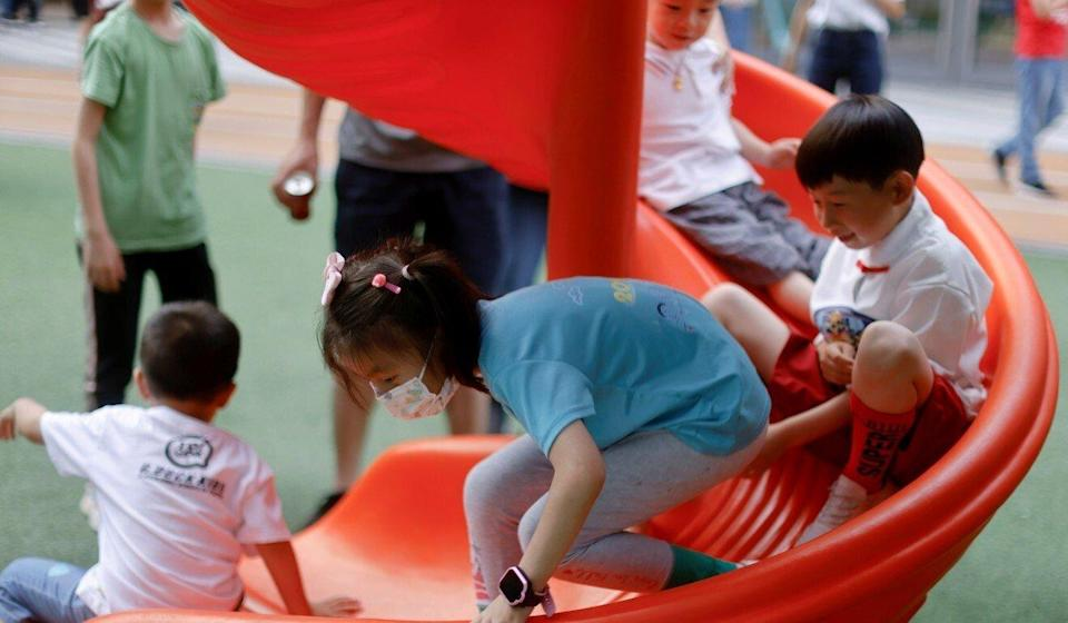 Beijing wants to reverse the country's declining birth rate. Photo: Reuters